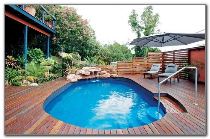 Inground Swimming Pool Deck Designs