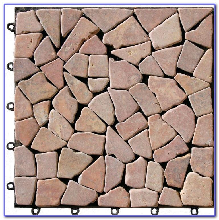 Interlocking Deck Tiles Stone