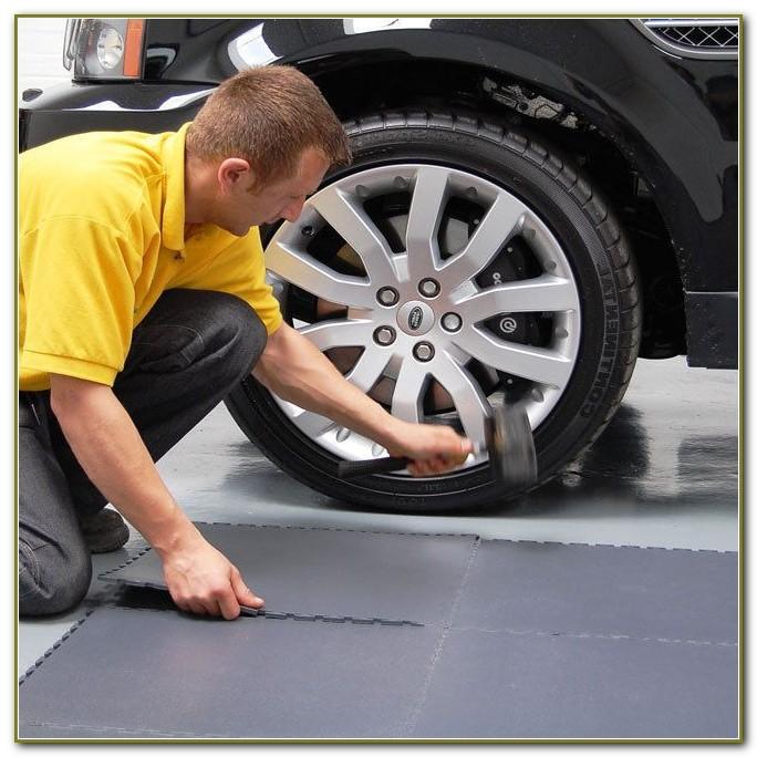 Interlocking Garage Floor Tiles Ebay