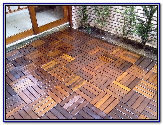 Interlocking Wood Deck Tiles Ikea