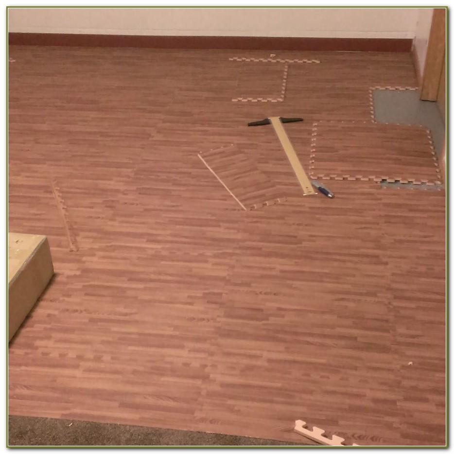 Interlocking Wood Floor Tiles