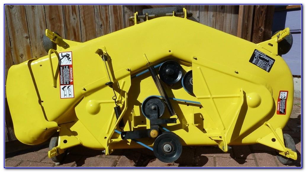 John Deere L110 Mower Deck Belt Diagram