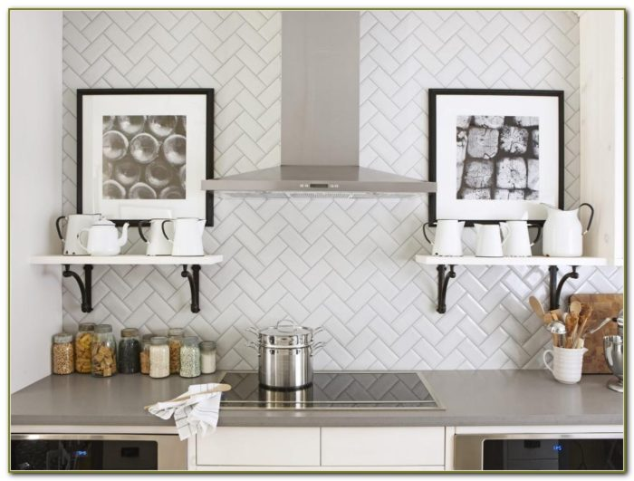 Kitchen Subway Tile Backsplash Designs