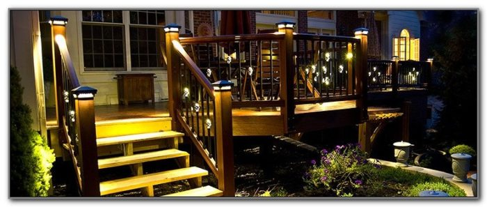 Led Deck Post Lights