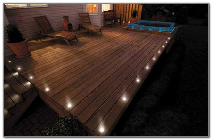Low Voltage Led Deck Post Lights