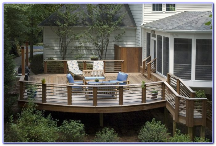 Modern Deck Railing Design