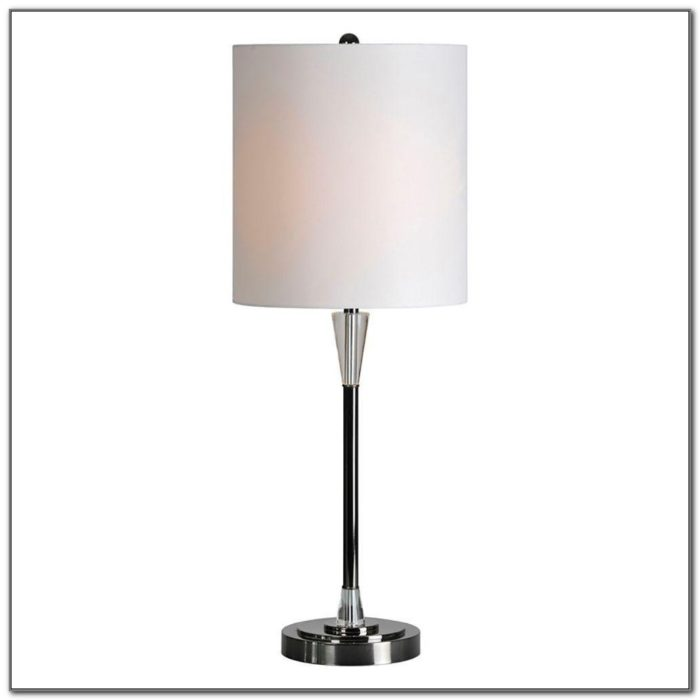 Nickel Table Lamps Home Depot