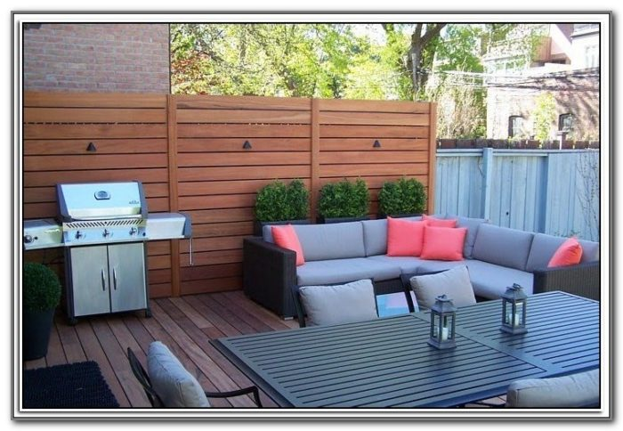 Outdoor Blinds For Decks