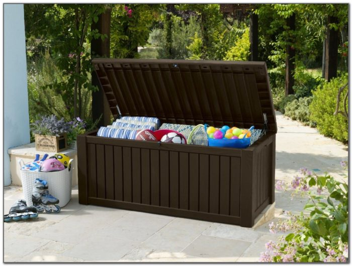 Outdoor Deck Storage Box 150 Gallon