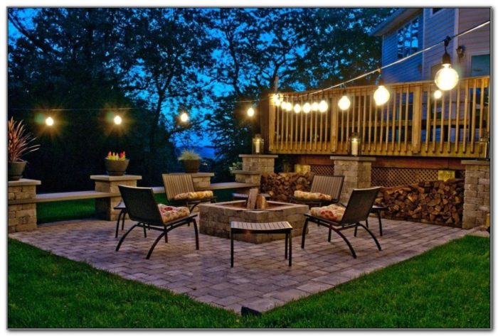 Outdoor Deck String Lights