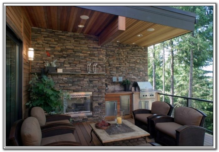Outdoor Gas Fireplaces For Decks