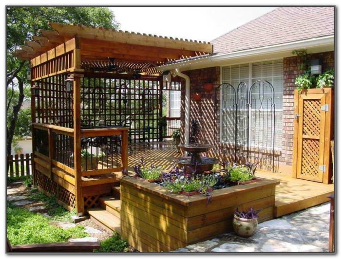 Outdoor Patio Privacy Screen Ideas
