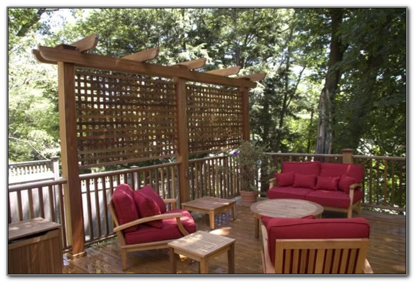 Outdoor Privacy Screen Ideas Pictures