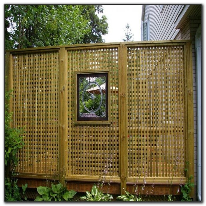 Outdoor Privacy Screens For Decks
