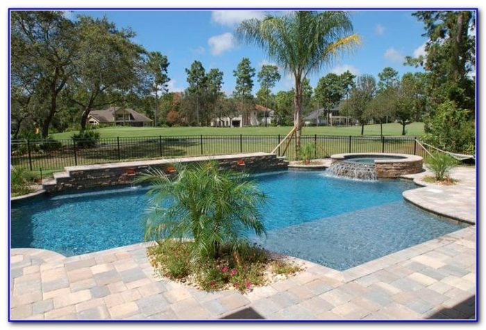 Paver Pool Decks Gallery