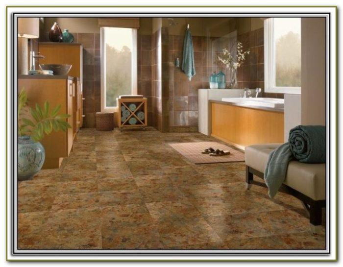 Peel And Stick Tile Flooring Installation
