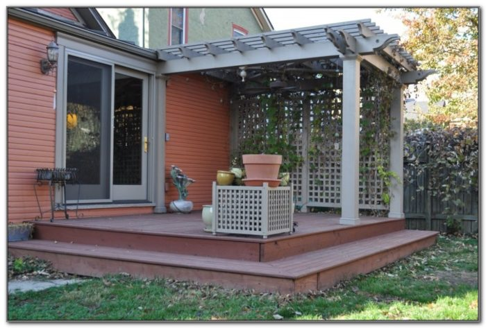 Pergola Designs For Decks