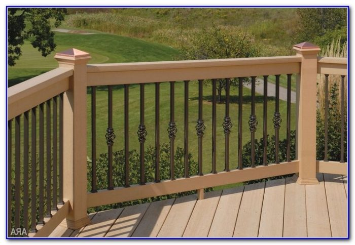 Pictures Of Deck Railings Wood