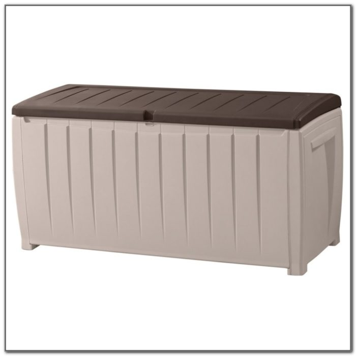 Plastic Deck Storage Box