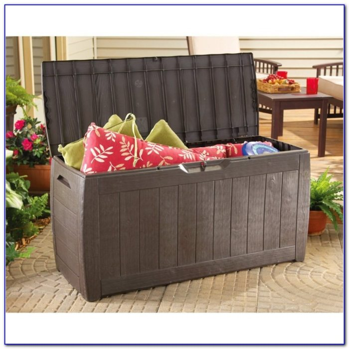 Pool Deck Boxes Storage