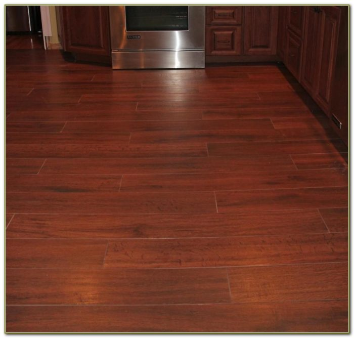 Porcelain Tile Looks Like Wood Flooring