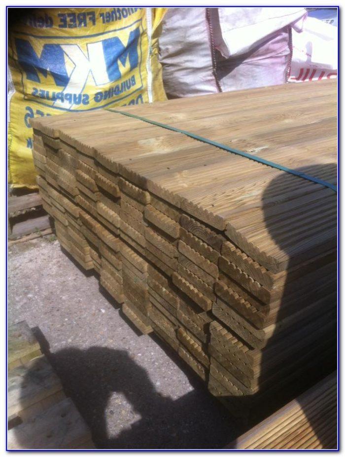 Pressure Treated Redwood Decking