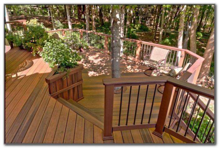 Pressure Treated Wood Deck Designs
