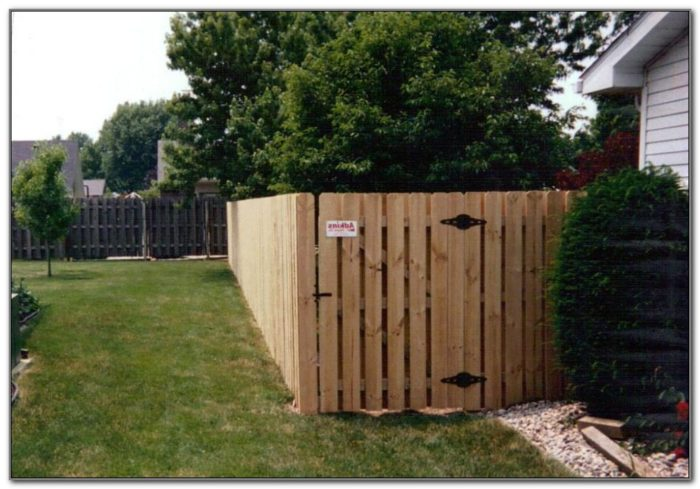 Privacy Fence For Decks