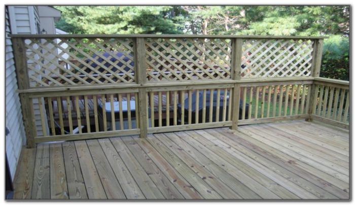 Privacy Screen Designs For Decks