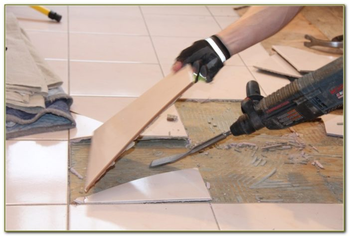 Removing Ceramic Tile Floor