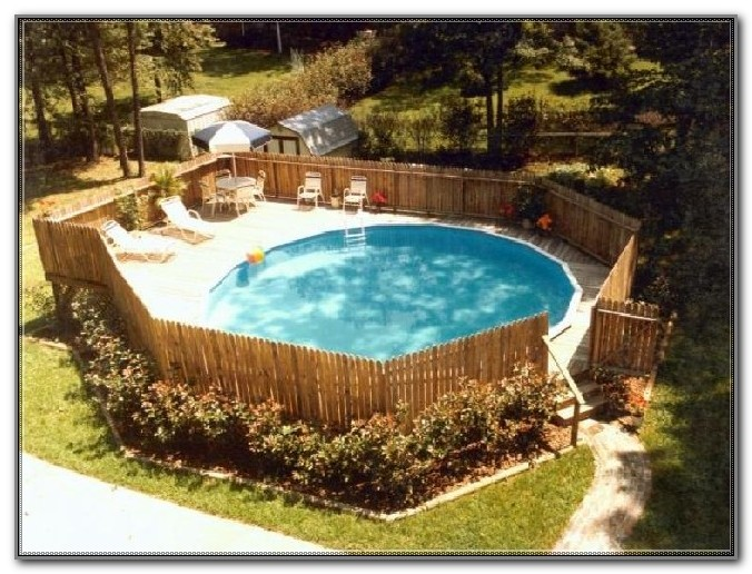 Round Pool Deck Ideas