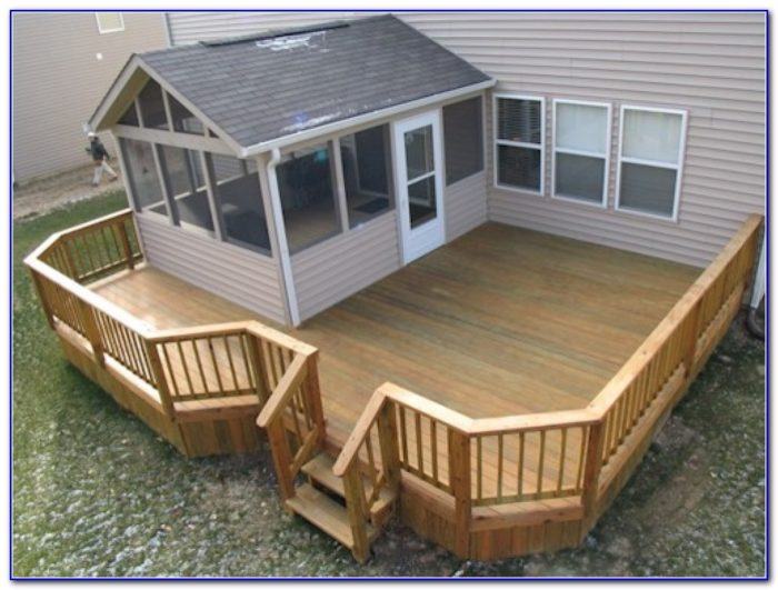 Screened In Decks Ideas
