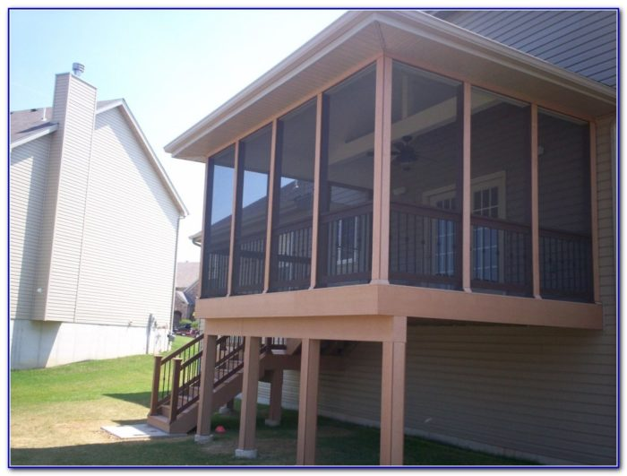 Screened Porch Under Deck Ideas
