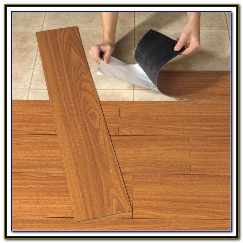 Self Adhesive Vinyl Tiles Over Linoleum