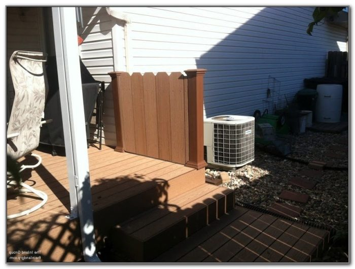 Shade Screens For Decks