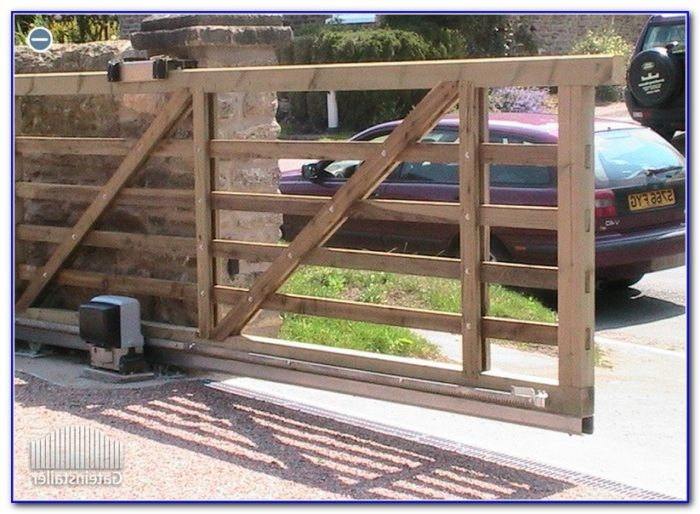 Sliding Deck Gate Diy