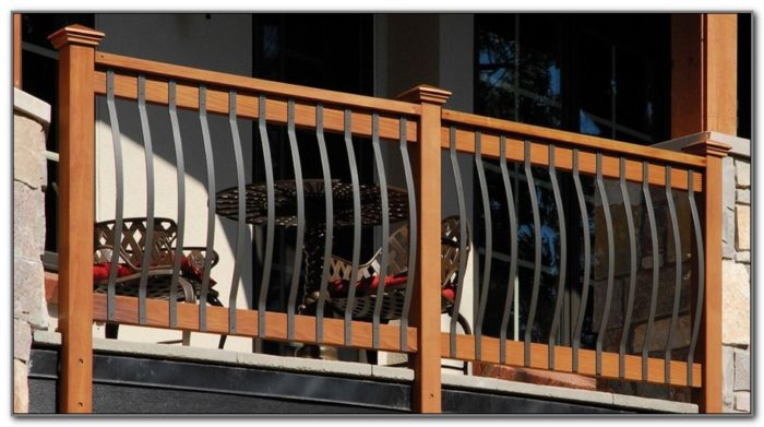 Small Deck Railing Ideas Dogs