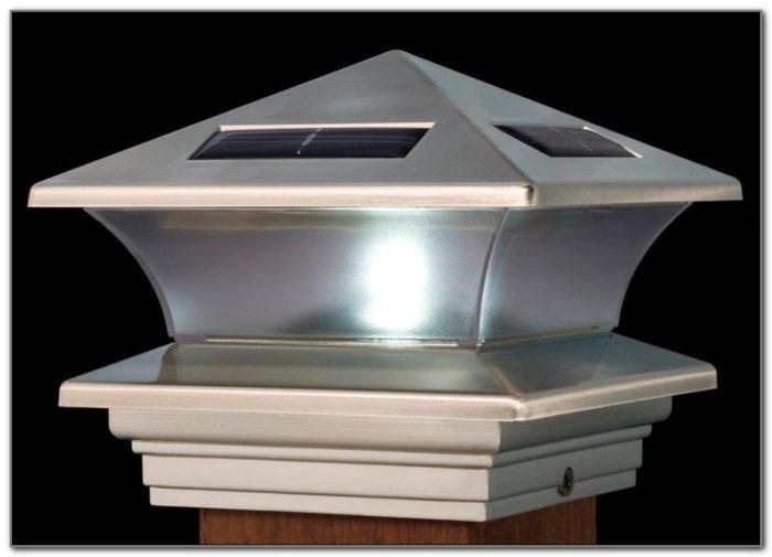 Solar Deck Post Lights Outdoor