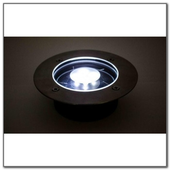 Solar Led Recessed Deck Lights