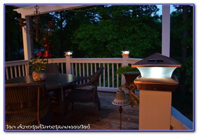 Solar Lights For Deck Posts