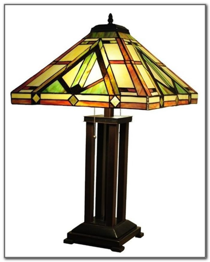 Stained Glass Table Lamp Bases