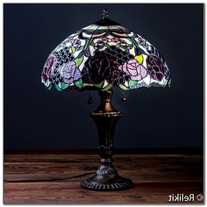 Stained Glass Table Lamps Lamps Home Decorating Ideas