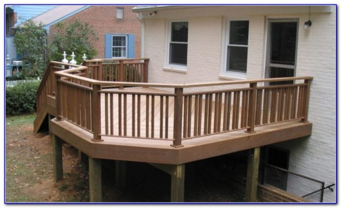 Steel Deck Railing Design Ideas