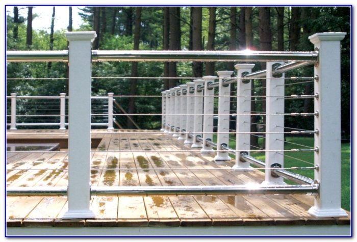 Steel Deck Railing Ideas