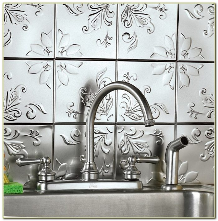 Stick On Backsplash Tiles Home Depot