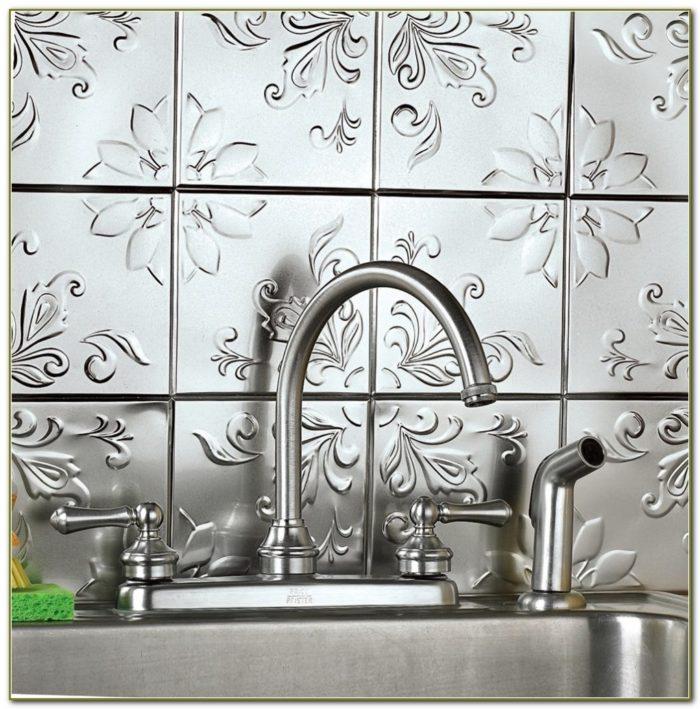Stick On Backsplash Tiles Home Depot