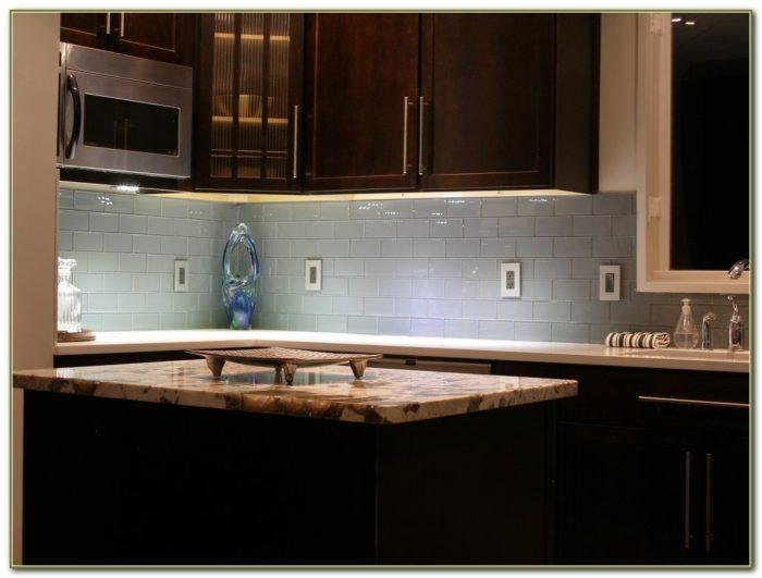 Subway Glass Tile Backsplash Ideas
