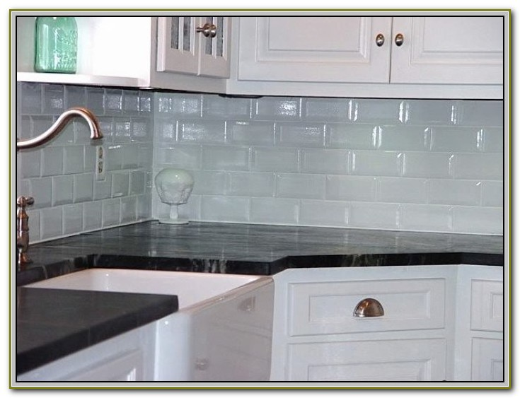 Subway Tile With Light Grey Grout
