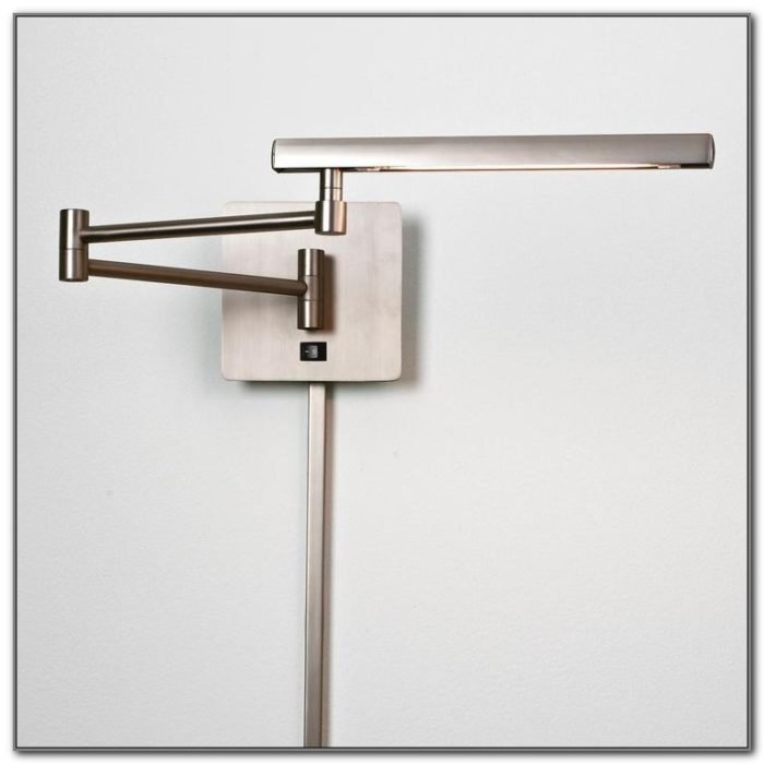 Swing Arm Reading Lamps Wall Mounted