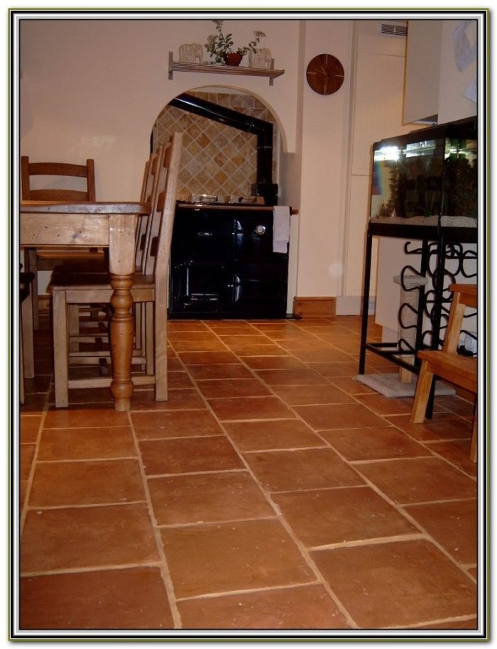 Terracotta Floor Tile Decorating Ideas